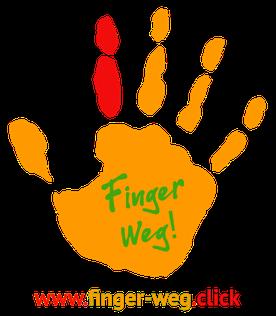 Logo vom Projekt Finger Weg!