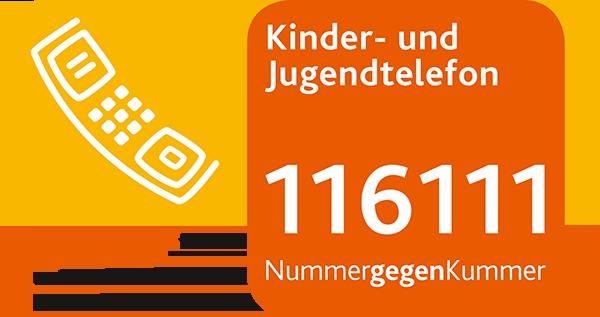 Logo vom Kinder- und Jugendtelefon